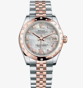 Replica Rolex Datejust Lady 31 Watch : Everose Rolesor - yhdiste