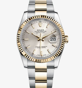 Replica Rolex Datejust Watch : Yellow Rolesor - yhdistelmä 904L